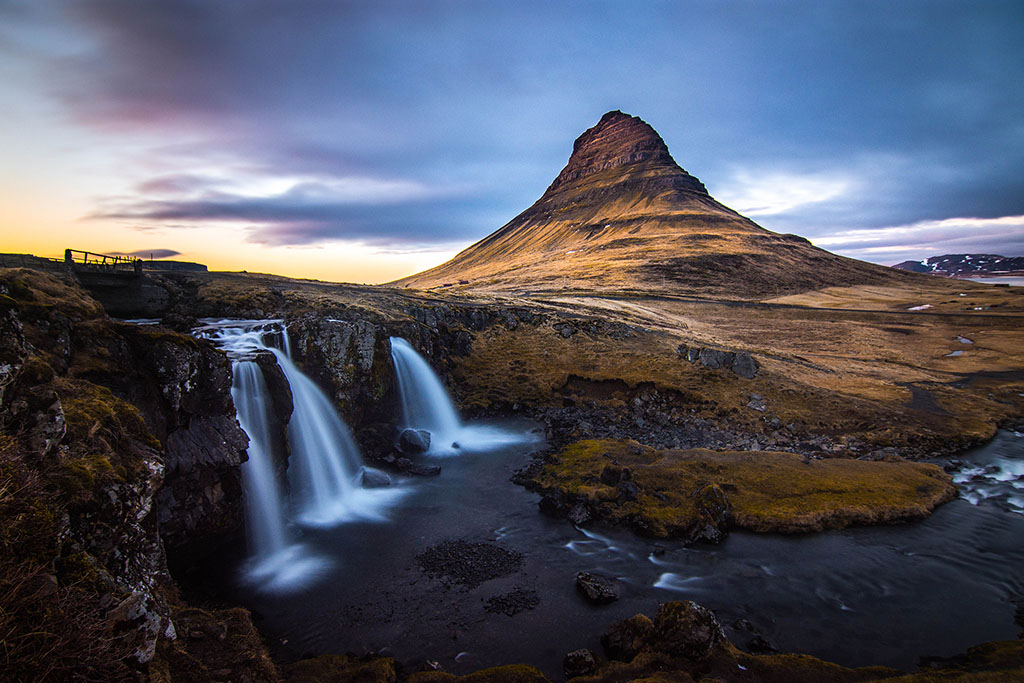Sunset on Kirkjufell